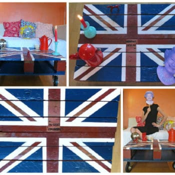 "God Saved My Pallet: ""Union Jack"" Coffee Table"