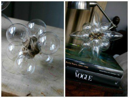 Light Bulbs Sculptures