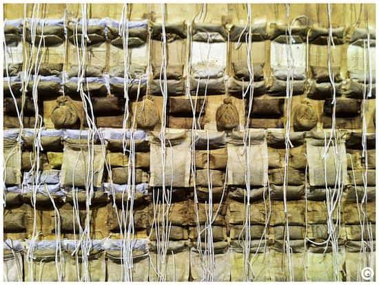 Teabags Frames Recycled Art