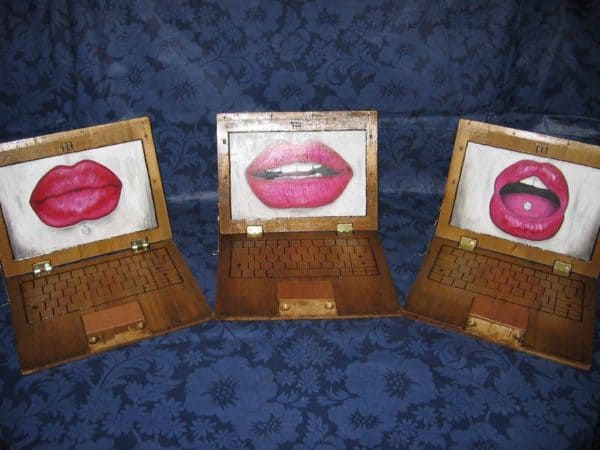 Wooden Boards Laptops Accessories Recycled Art Wood & Organic