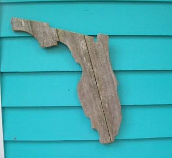Fence wood art