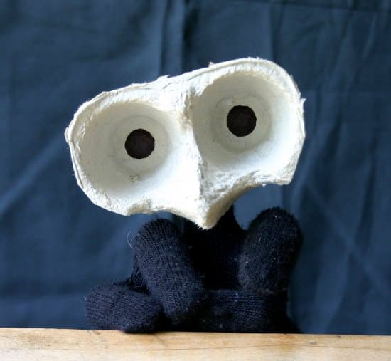 Mummenschanz puppet Do-It-Yourself Ideas Recycled Packaging