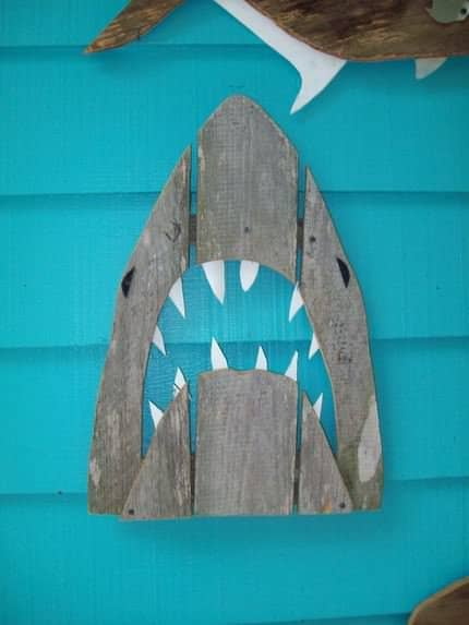 Fence wood art Recycled Art Wood & Organic