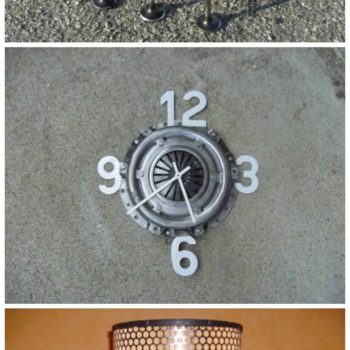 Ze Grange: Creations from Old Car Parts & Metal