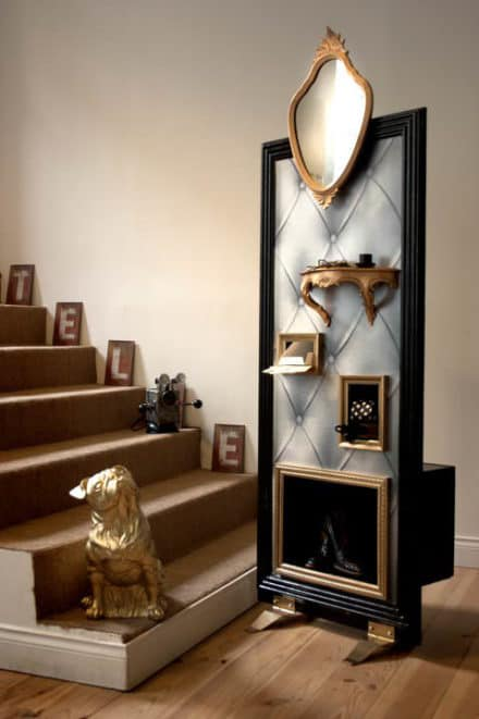 Upcycle Menuboard in a Hall furniture
