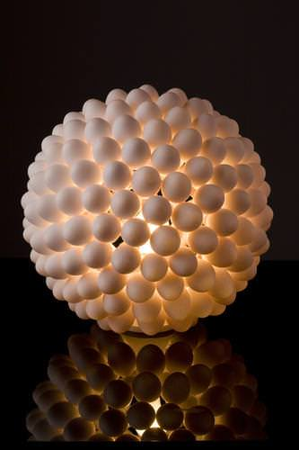 Eggshell light in lights art  with Light Eggshell egg design