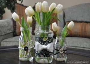 DIY : Repurposed glass jar
