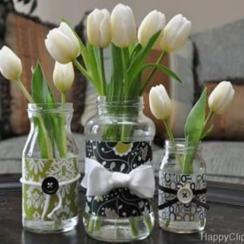 DIY: Repurposed Glass Jar