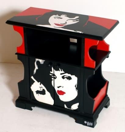 Pulp Fiction vintage cabinet