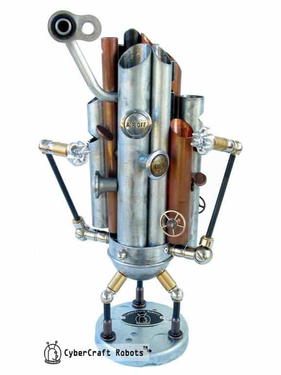 The WurliTzer 9000 Walking Music Machine Recycled Art Recycling Metal