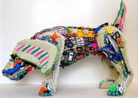 Robert Bradford 3d Plastic Sculptures Recycled Art Recycled Plastic