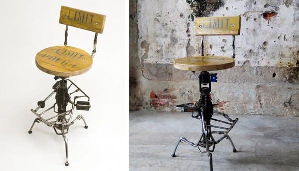 Bicycle Furnitures Bike & Friends Recycled Furniture