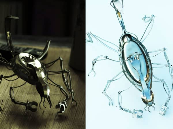 Insectos Accessories Recycled Art