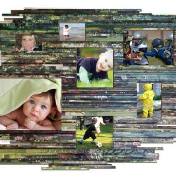 Recycled Pictures Frame