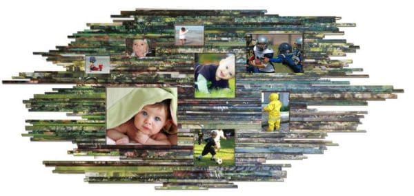 Recycled Pictures Frame Do-It-Yourself Ideas Recycling Paper & Books