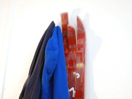 Skate coat rack