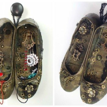 Old Shoes Reused For Storing