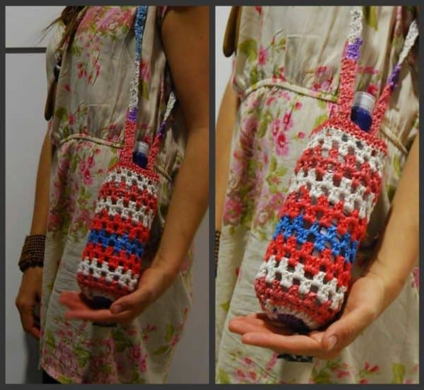 Plastic Bag Recycle Bottle Carries Accessories Recycled Plastic