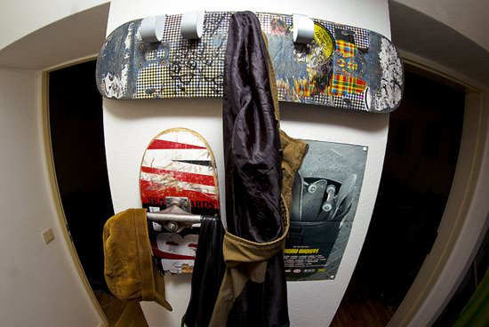 Skatedeck Wardrobe Accessories Recycled Sports Equipment