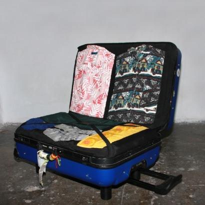 Suitcase sofa
