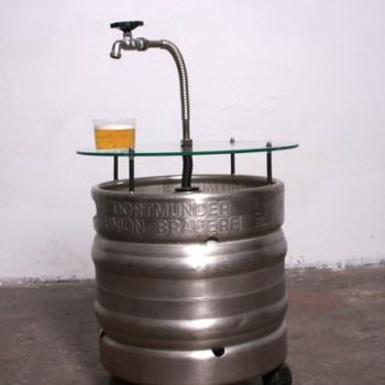 Beer Barrel Table