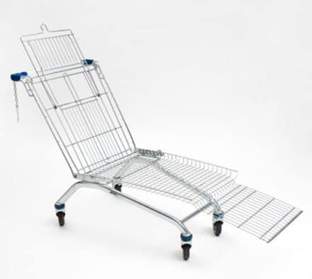 Shopping Cart Lounger