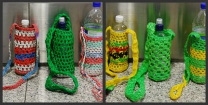 Plastic Bag Recycle Bottle Carries