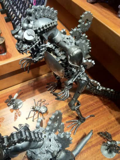 Gears Godzilla