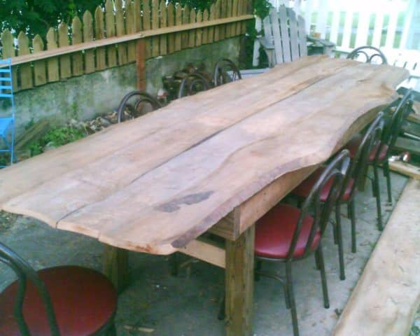 Harvest Table Recycled Furniture Wood & Organic