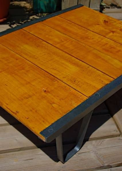 SNCF Palett Table Do-It-Yourself Ideas Recycled Furniture Wood & Organic