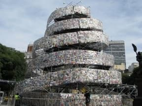 Tower of 30 000 books