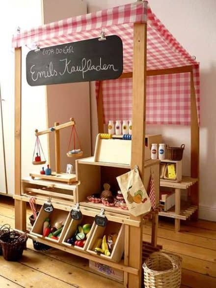 DIY : kids grocery store