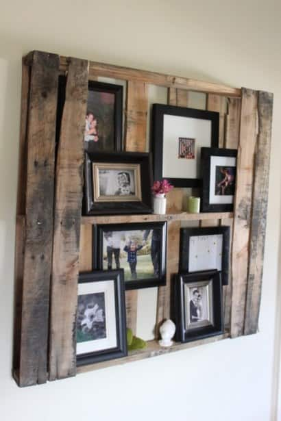 Pallet Floating Shelves