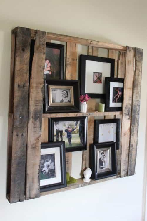 Pallet Floating Shelves Recycled Furniture Recycled Pallets Wood ...