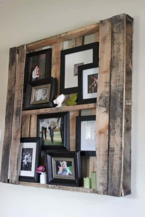diy pallet floating shelving system 2 500x750 Pallet Floating Shelves in wood furniture pallets 2 with Shelves Pallet