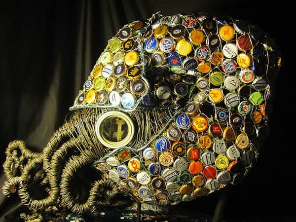Nautilus Recycled Art