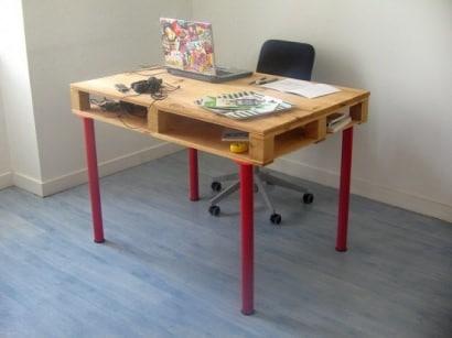 DIY : Pallet desk