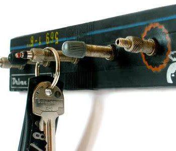 Bicycle valves key holder