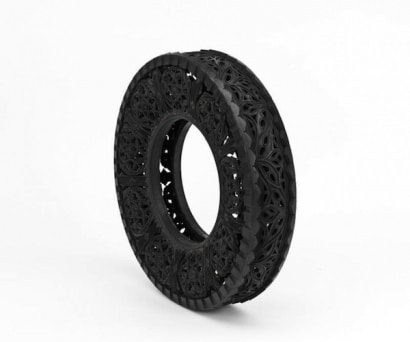 Car Tires Art