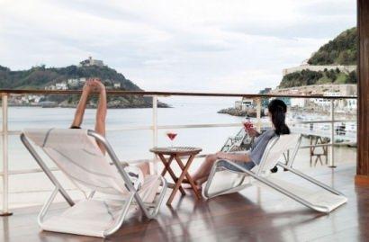 Sail fabric chair