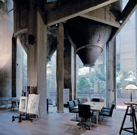 Cement factory   > workspace in architecture  with House