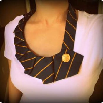DIY : necklaces from ties