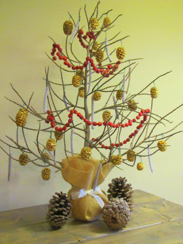 Mini Christmas Tree Accessories Do-It-Yourself Ideas