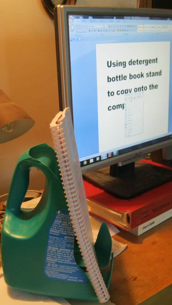 Book stand Accessories Recycled Packaging Recycled Plastic