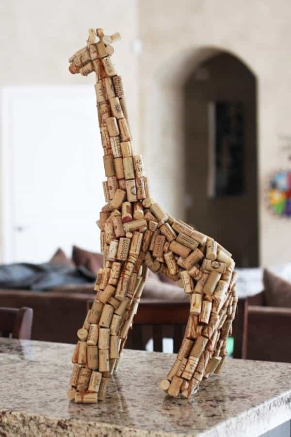 22 Inspiring Recycled Cork Creations in diy corks  with Repurposed Recycled Art Recycled DIY Craft Corks