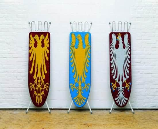 Blazon Ironing boards in art metals fabric  with ironing board ironing