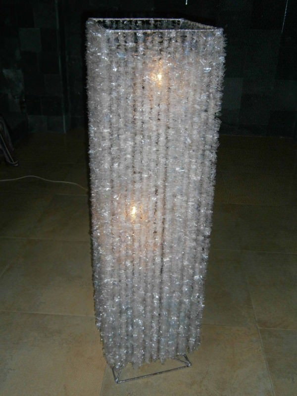 Alternative Crystal Lamp in plastics lights  with Plastic Lamp Contemporary