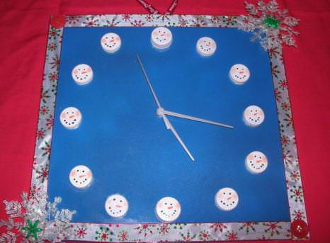 snowman-clock