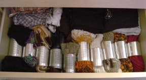 Scarves organiser