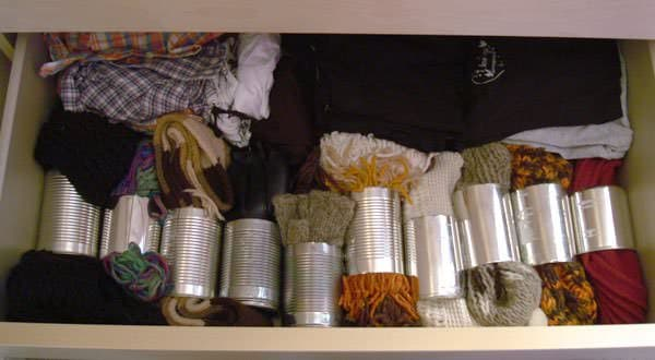 Scarves Organiser Accessories Do-It-Yourself Ideas Recycling Metal
